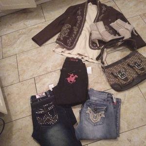 Lot of Fashionable Clothing